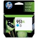 HP 951XL cyan Cartouche d'encre Grande Capacité (CN046AE)