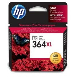 HP 364XL photo noir Cartouche d'encre d'origine