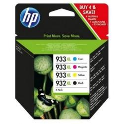 HP 932XL/933XL noir couleur Cartouches d'encre d'origine Grande Capacité