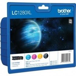 Brother LC1280XL noir, couleur Value Pack Cartouches d'encre d'origine