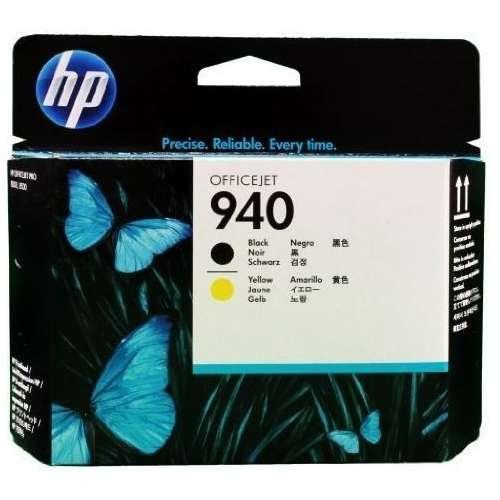 HP 940 noir, jaune Tête d'impression