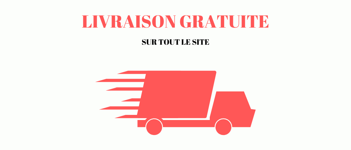 Profitez de la livraison gratuite sur tout le site !